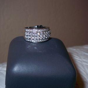 La Vian Dimond Band Ring